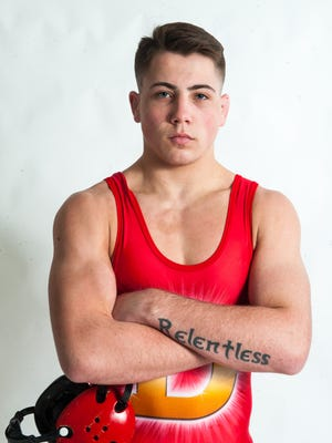 Delsea's Bill Janzer is The Daily Journal's Wrestler of the Year.