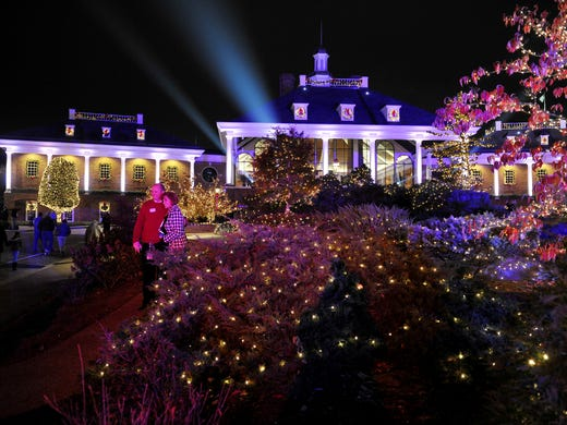 Gaylord Opryland Resort in Nashville is lit for the holidays after the  annual Christmas lighting ceremony - Opryland Announces Country Christmas Lineup, Lights