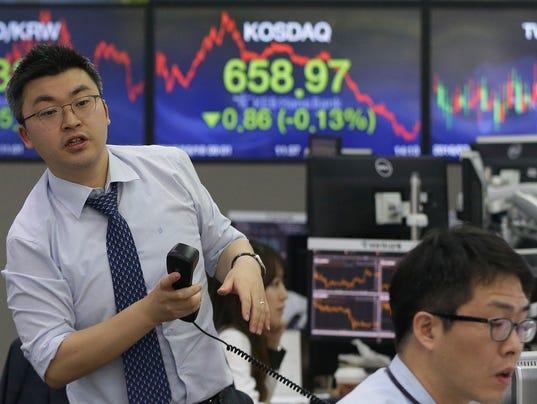 AP SOUTH KOREA FINANCIAL MARKETS F I KOR