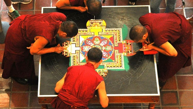 Tibetan monks return to Salisbury University for a weeklong residency starting Monday, March 13.