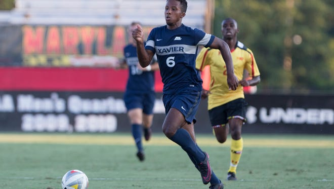 Xavier men's soccer product Jalen Brown is Major League Soccer bound.   Brown, a four-year player for the Musketeers, was selected Friday by New York City FC with the 38th overall pick (second round) in the MLS SuperDraft.