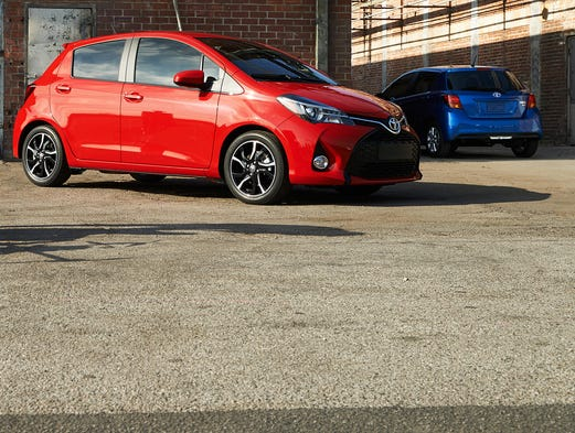 Toyota introduces a new Yaris, its cheapest vehicle, for 2015
