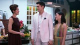 "At the Los Angeles premiere of ""Crazy Rich Asians,"" newcomer Henry Golding can't believe his life, while co-stars Michelle Yeoh, Gemma Chan and Awkwafina discuss the film's crazy rich fashion. (Aug. 8)"