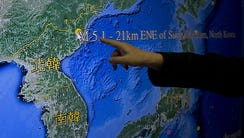 Kuo Kai-wen, director of Taiwan's Seismology Center,