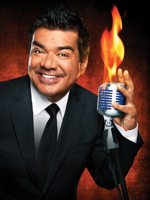 Like most comedians, George Lopez uses funny as a defense mechanism even if he's describing the illness that almost killed him.