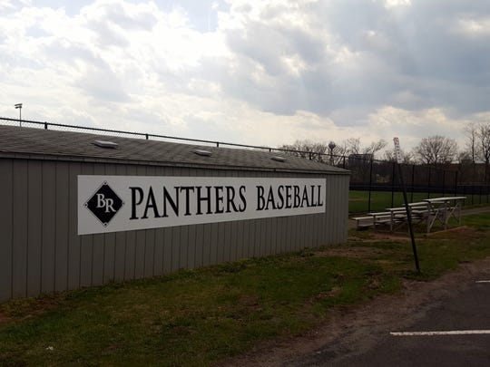 The renovated baseball field at Bridgewater-Raritan