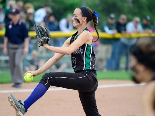 Clear Fork's Darian Gottfried won 60 games during her career.