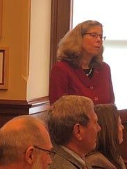 Wendy Wintersteen, president of Iowa State University,