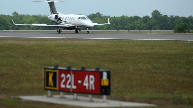 A disaster drill will take place at Lafayette Regional Airport on Friday.