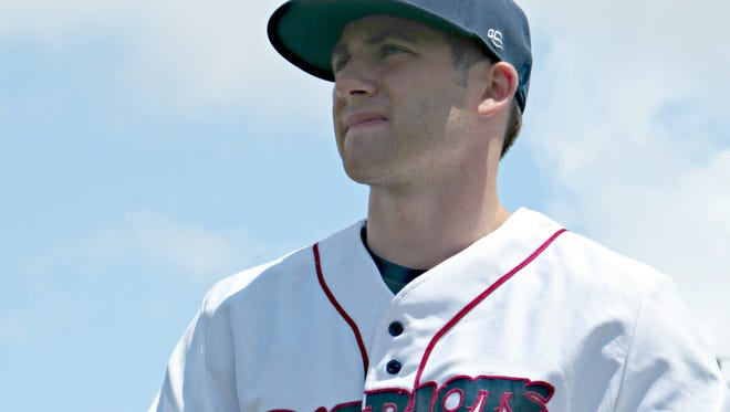 Former Rutgers University star Vinny Zarrillo is back for his second stint with the Somerset Patriots.