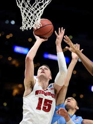 Sam Dekker had only seven points in last year's Elite Eight game against Arizona, but he is coming off a career-high 23 points vs. North Carolina.