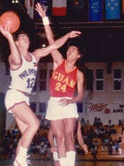 Alvin Razon (24), father of Desiree Razon, was a former Guam basketball great and represented team Guam in the South Pacific Games.