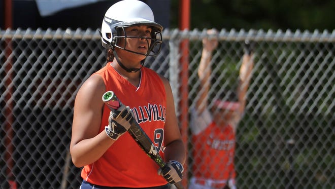 Millville senior Kaila Smith should be one of South Jersey's top hitters in 2016. She drove in 26 runs last season.