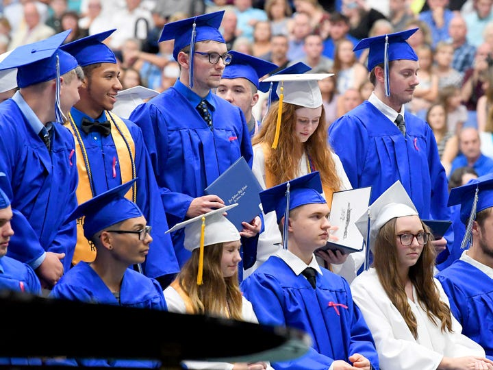 Hear what three Fort Defiance H.S. graduates say they will miss most (and not so much) about their school.