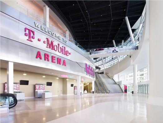 First Look Las Vegas39 New TMobile Arena