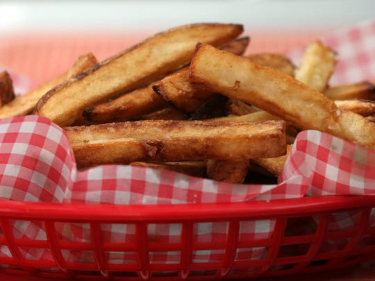 The British specialize in classic thick-cut fries.