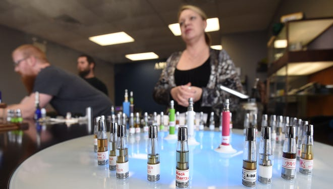 Kim Mellembakken, owner of American Vapez in Mountain Home, talks about personal vaporizers as an effective alternative to smoking. As vaping sees an increase in popularity, the Arkansas Legislature is looking to tax the vaping products.