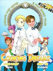 "Cover of Logan Guleff's new cookbook, ""Cooking Dreams."""