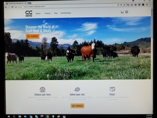 Crowd Cow website.