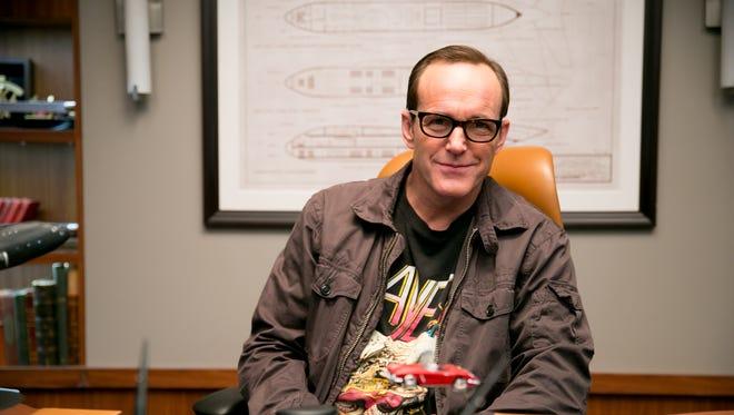 Clark Gregg stars in ABC's Marvel's Agents of S.H.I.E.L.D. Photographed on the S.H.I.E.L.D. set,