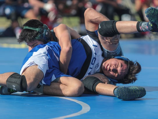 Wrestles from Cathedral City High, Palm Desert High,