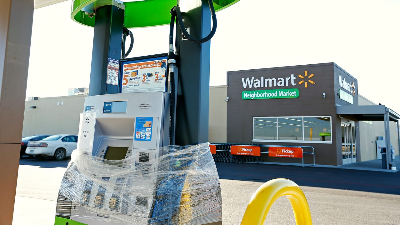 Walmart's recent store closures largely affected rural America