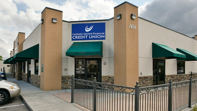 The Catholic United Financial Credit Union, shown Tuesday, Sept. 6, is now at 1420 St. Germain St. in St. Cloud.