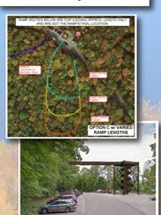 Another Eagle Tower option includes building a single-path