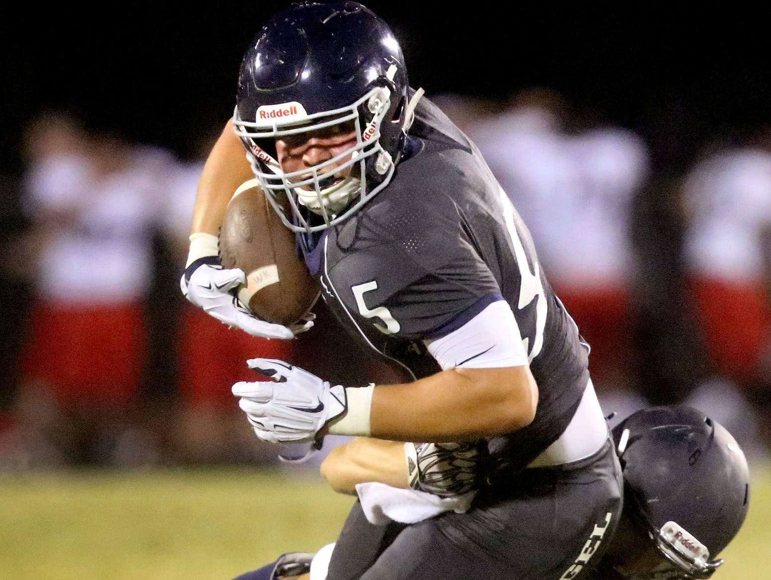 Dalton Frantz helped Siegel to its first victory last Friday at Cookeville.