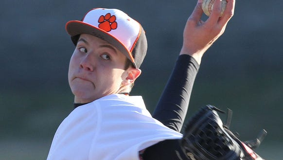 White Plains senior Spencer Lodes is hoping for a successful return to the mound after having shoulder surgery in November.
