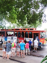 The Cape Coral trolley event, put on once a month by South Cape Hospitality and Entertainment Associations, has become a staple of the Cape Coral night life scene.