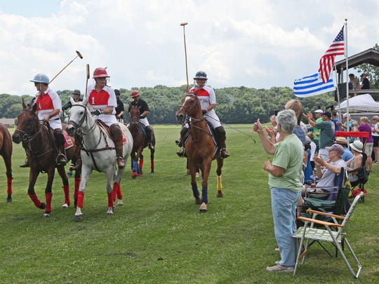 Check out the ponies this summer during a match at the Milwaukee Polo Club's home in Merton.