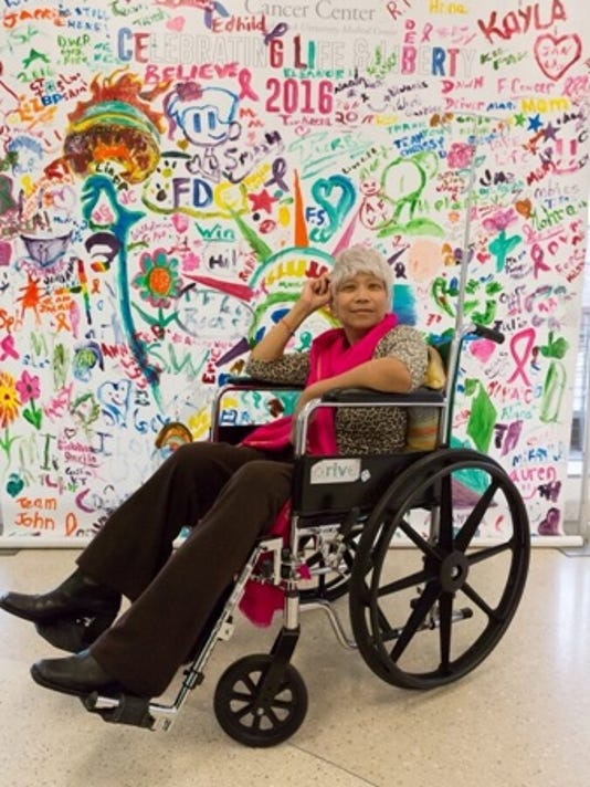 Toni Fukuda Weehawken Hackensack cancer