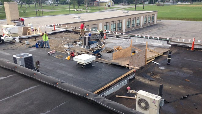 Hill Intermediate School in the Bethel-Tate School District received much needed repairs over the summer.