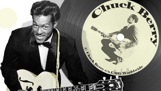 """Chuck Berry is known as """"the Father of Rock & Roll"""""""