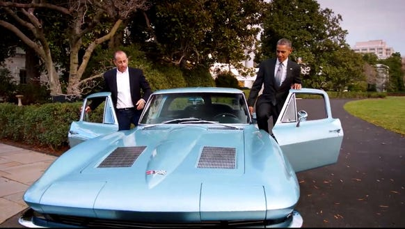 Obama Car: 6 Gems From President Obama's Abrupt Ride With Jerry Seinfeld