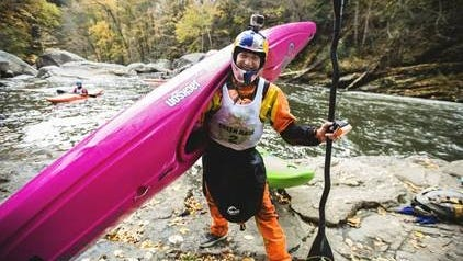 Dane Jackson stands for a portrait at The Green Race in Hendersonville, N.C. last  year. Jackson tied for a win at the Green River Race on Nov. 7.