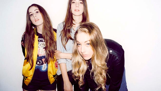 Haim will perform at the Mercury Ballroom June 7.
