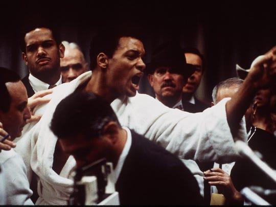 """Will Smith portrays Muhammad Ali in the 2001 """"Ali"""" movie."""