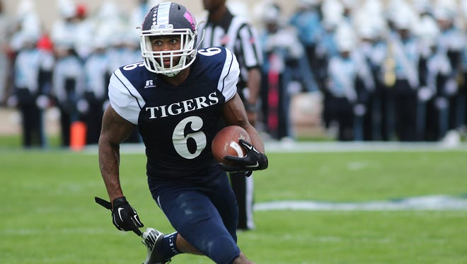 Devin Fosselman, JSU's leading receiver, will try to help the Tigers claim a second consecutive win against Alcorn State.