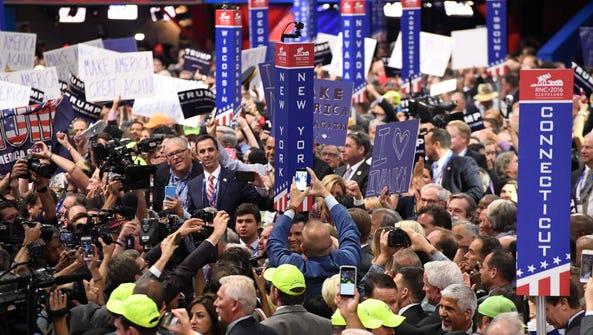 Republican National Convention in Cleveland on July