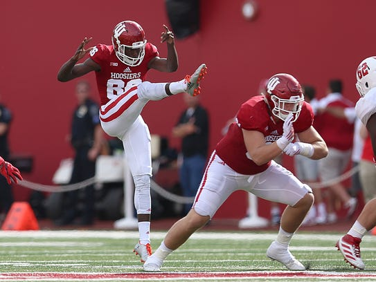 Joseph Gedeon opens camp as the Hoosiers' starting