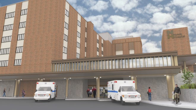Rendering of Nyack Hospital Transformation Project.