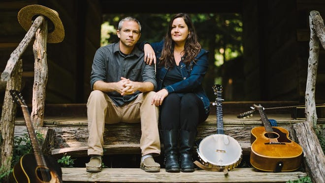 Nikki Talley, right, and Jason Sharp will perform at Music Under the Stars March 27 at 7 p.m. at From the Ground Up Community Garden, 501 N. Hayne St.