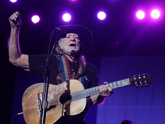 Willie Nelson plays Hertz Arena in 2016. The country singer's management didn't allow The News-Press to shoot Thursday's show without unacceptable restrictions.