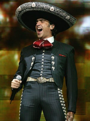 The Grammy Award-winning Mexican singer Alejandro Fernanez will perform Nov. 28 at the El Paso County Coliseum, 4100 E. Paisano.