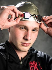 MBA swimmer Ford Ray