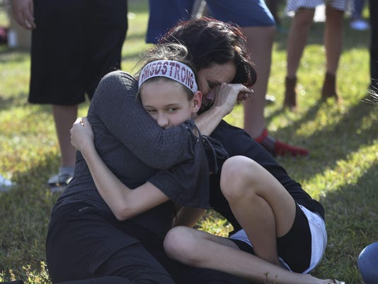 Rally Held In Parkland, Florida Calling For Increased Gun Safety Laws Ahead Of Weekend's National Marches