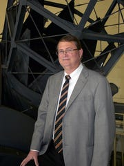 Astronomer Craig Nance will give a talk on Monday.