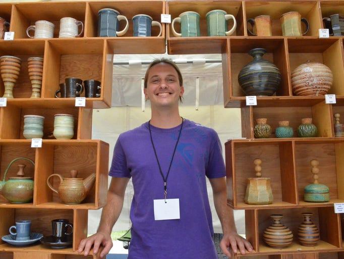UCF ceramics alum, Gabriel Isaac, showcases clay and